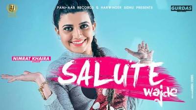 Salute Vajde lyrics from Punjabi Songs
